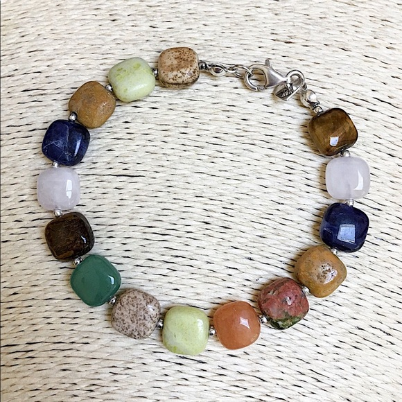 Jay King Jewelry - NEW JAY KING DTR Multi-Stone Sterling Bracelet